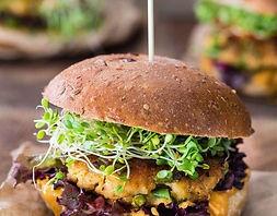 fish burger d'un food truck de burger