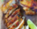 Poulet croustillant, food truck de cuisine antillaise - caribéenne