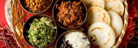 Foodtruck de cuisine vénézuélienne, camion restaurant vénézuélienne