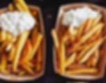 frites mayonnaise cusiné en food truck