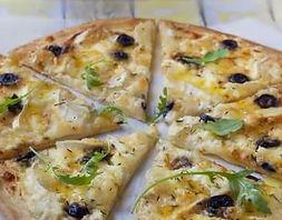 Pizza chèvre-miel, camion à pizza