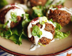 cuisine libanaise réalsée en food truck pour événement d'entreprise