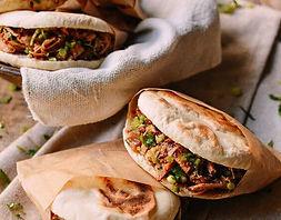 sandwich vietnamien cuisiné en food truck
