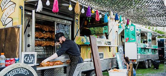Food truck pour événement d'enverure - food tuck pour festival