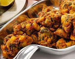 Beignet de légume, food truck de cuisine indienne