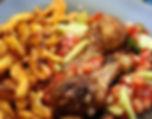 Poulet Braisé, food truck de cuisine africaine