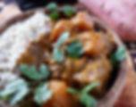 Mafé de poule, food truck de cuisine africaine
