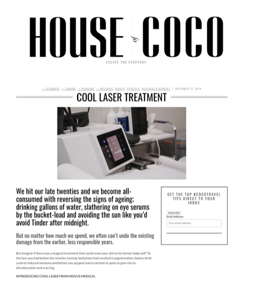 House of Coco - Cool Laser