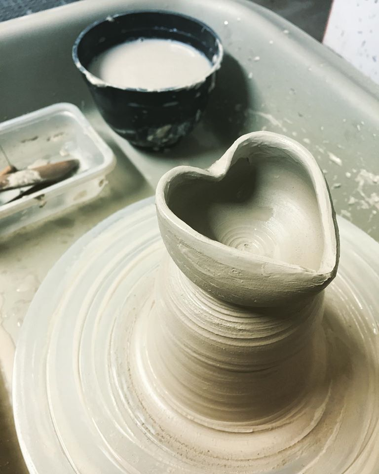 Ghost Pottery Scene