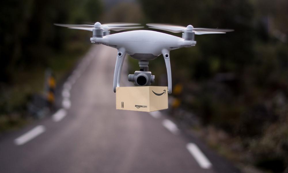 El gigante de compras por internet ha trabajado en la entrega con drones durante años, pero se ha visto frenado por cuestiones regulatorias.