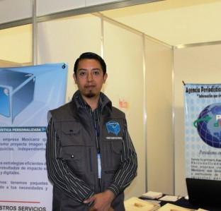 Expositor en la Expo Web 2.0 en Expo Reforma.