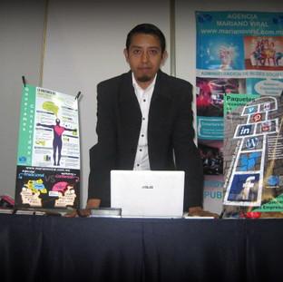 Expositor en la Expo Web 3.0. en Expo Reforma.