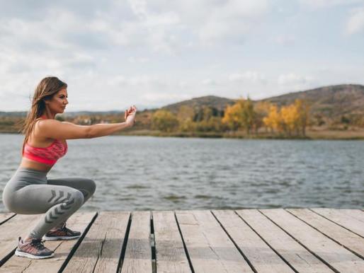 Las piernas muestran la capacidad para ir hacia adelante en la vida: Bien-estar-bien