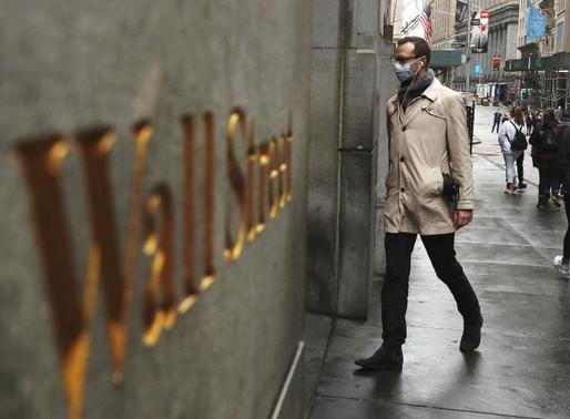 Wall Street cierra una semana con cifras récord pese a coronavirus