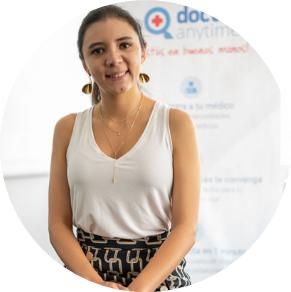 Emilia Salazar, country manager de doctoranytime