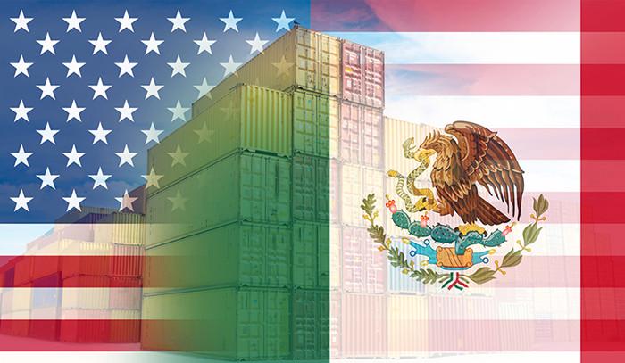 México representó el 14 por ciento del comercio total que ha realizado Estados Unidos con el mundo