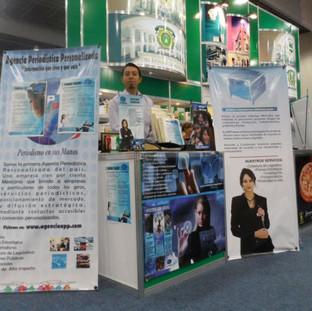 Expositor en la Semana Nacional Pyme 2012 en el Centro Banamex.