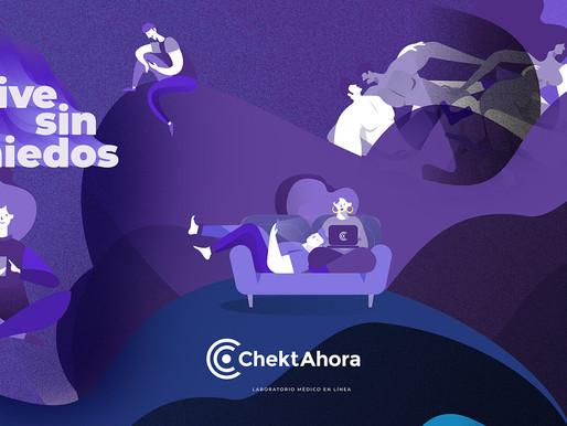 Conoce ChektAhora, la plataforma que te manda kit para saber si tienes o no coronavirus