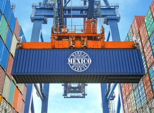 Exportaciones caen 8.9% durante julio; es el menor descenso desde marzo: INEGI