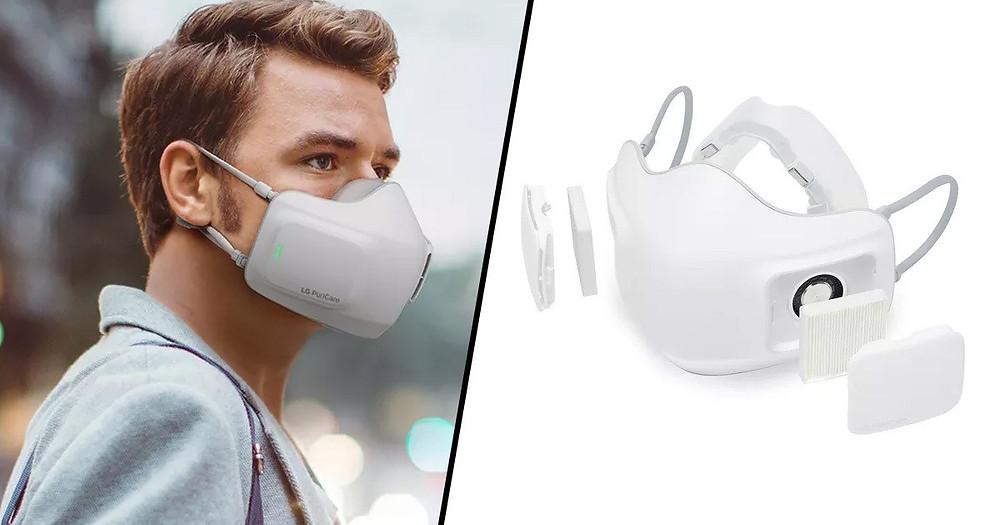 PuriCare Wearable Air Purifier ha sido diseñado para evitar los problemas de calidad de las mascarillas caseras