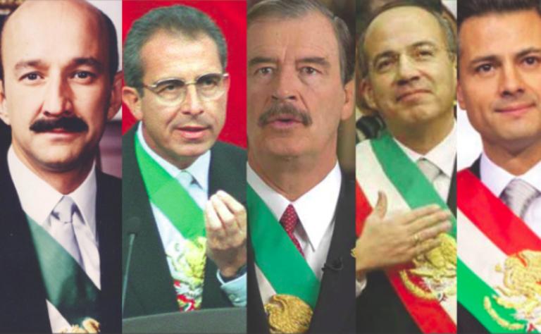 Peña Nieto se ubicó en primer lugar con el 89,4%