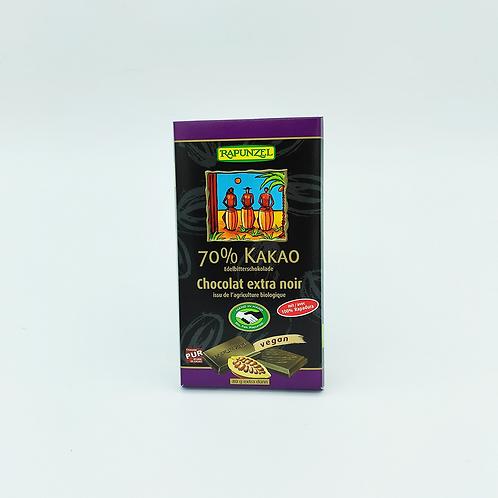 Xocolata negre 70% cacao, 80g