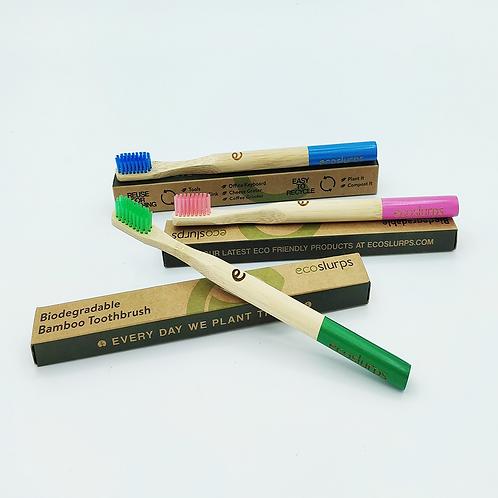 Raspall de dents Ecoslurps 100% Bambú Biodegradable