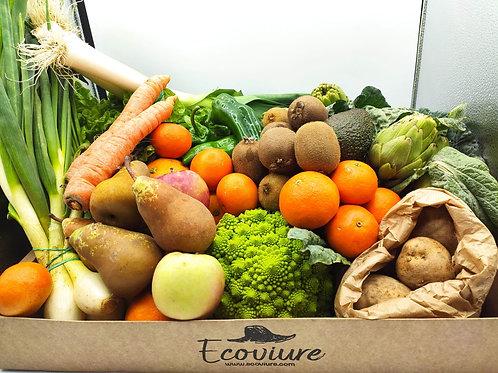 Cistella de fruites i verdures ECO 4-5 pers.