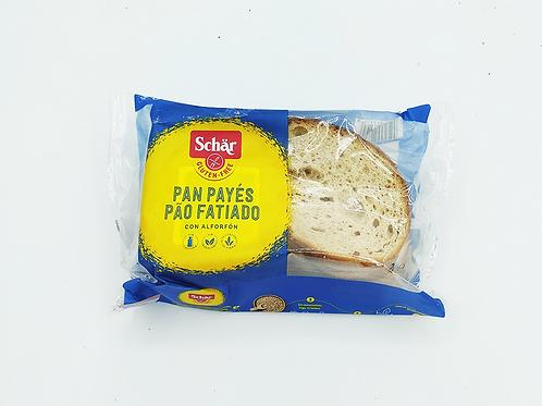 Pa de pagès a rodanxes Schär sense gluten