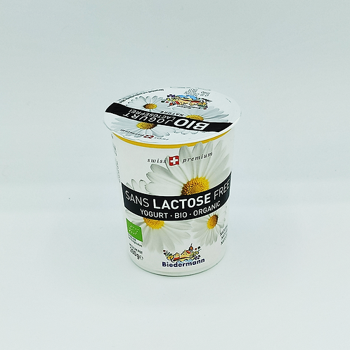 Iogurt s/lact. natural Bio, 200 g