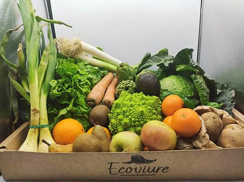 Cistella de fruites i verdures ECO 2-3 pers.