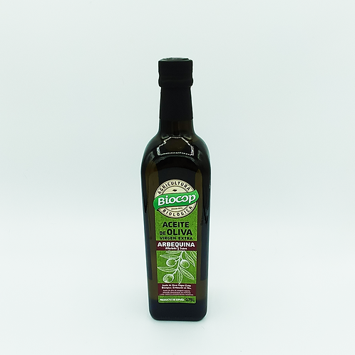 Aceite de oliva virgen extra arbequina Biocop