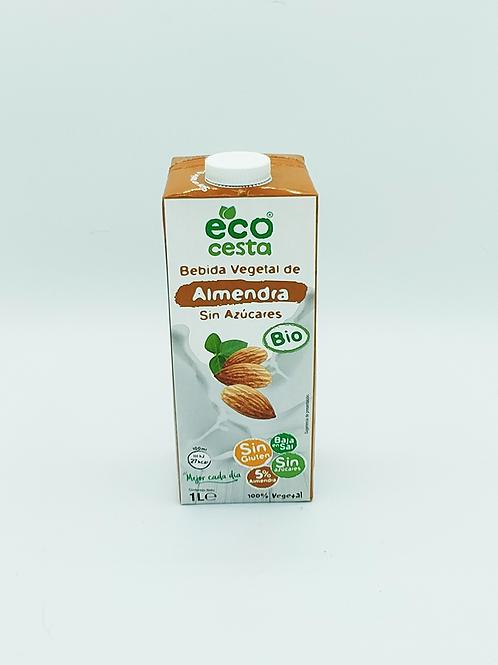 Beguda vegetal d'ametlles s/s Bio Eco Cesta, 1l