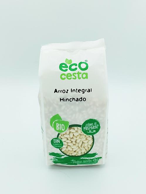 Arròs Integral Inflat Bio Eco Cesta, 125 g