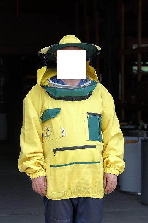 Куртка пчеловода жёлтая