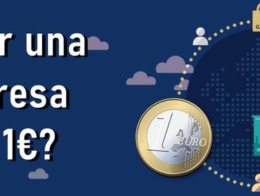 ¿Crear empresas con 1€?