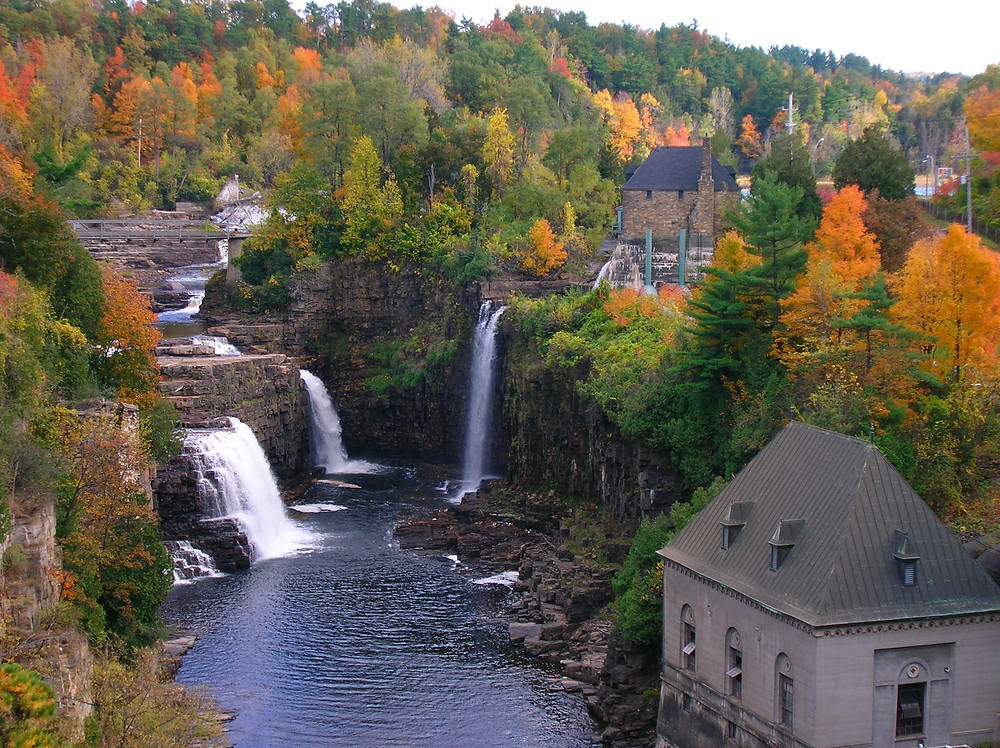 Ausable Chasm in upstate New York