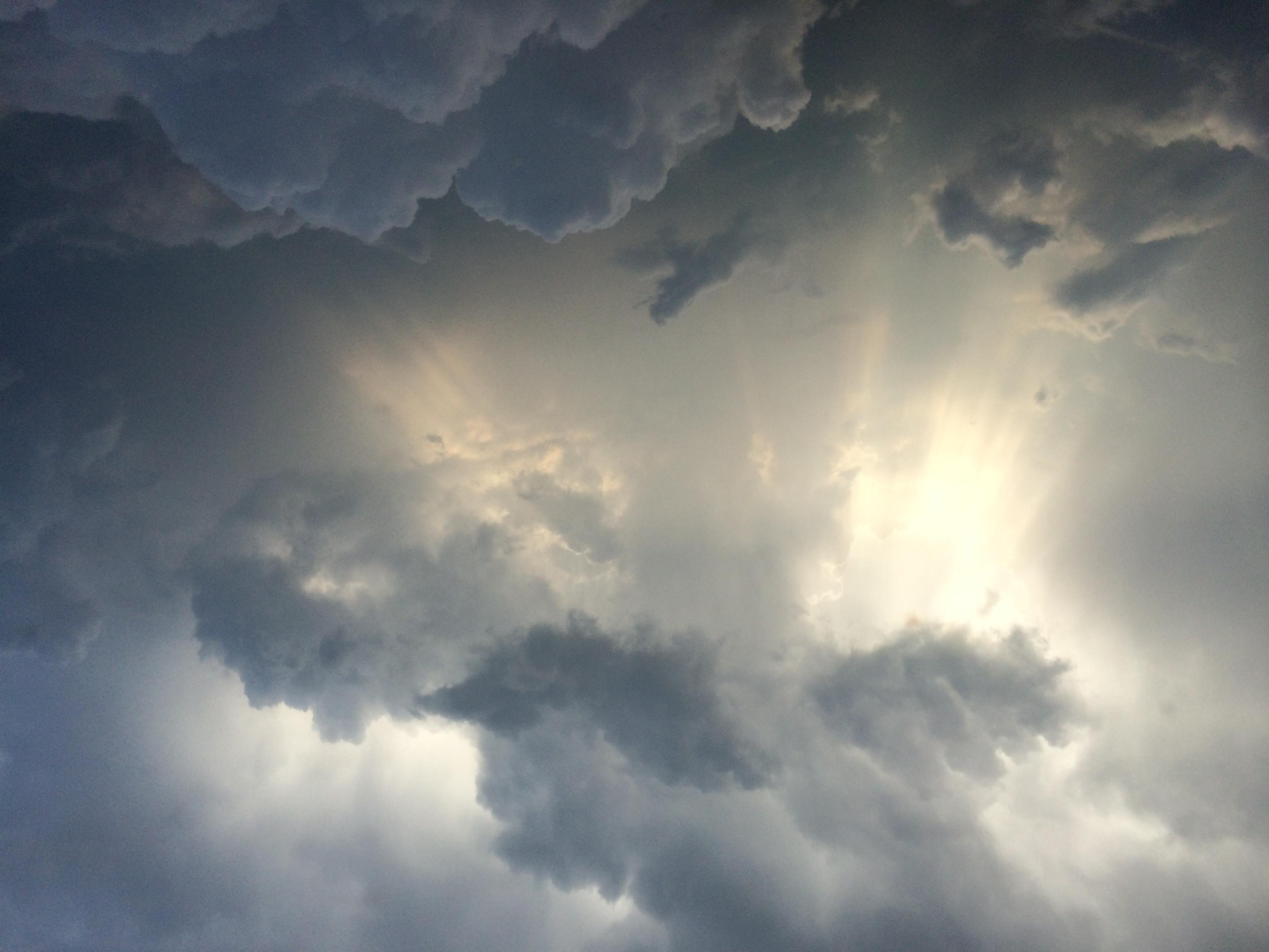 Sunburst Thunderstorm