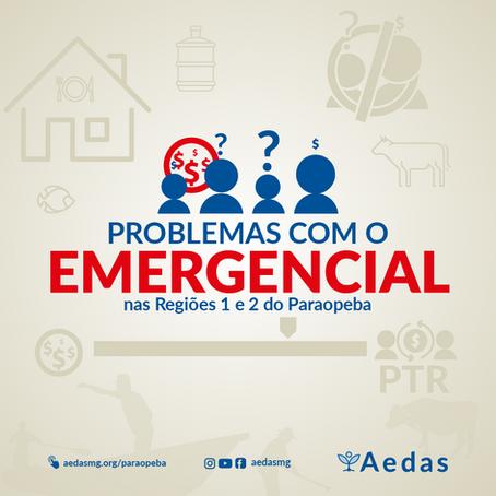 R1 e R2: Levantamentos da Aedas mostram que 21 mil pessoas já tiveram problemas com o emergencial