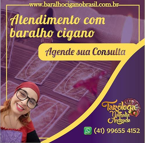 Taróloga Nathalia Andrade - consulta de Tarot