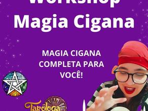 Magia Cigana: Workshop