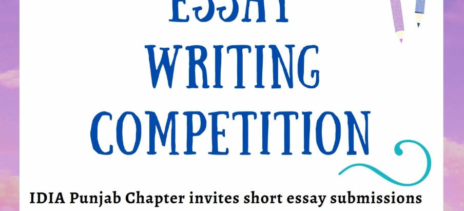 IDIA ESSAY WRITING COMPETITION.