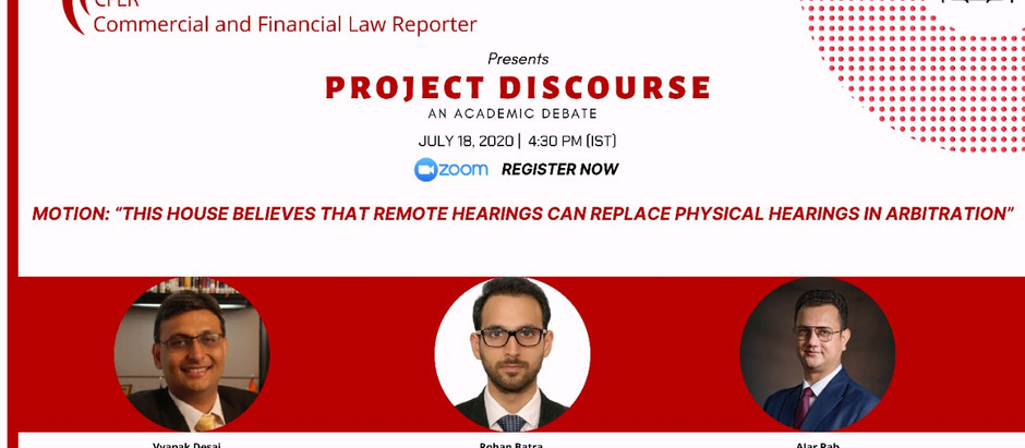 Project Discourse by The Commercial and Financial Law Reporter