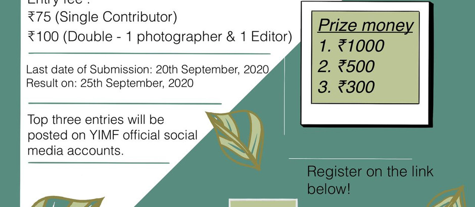Photography Competition by Organised by Young Ignited Minds Foundation.