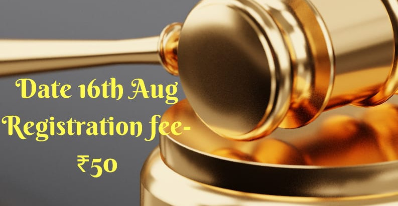 Online National Quiz competition on Law of Torts.