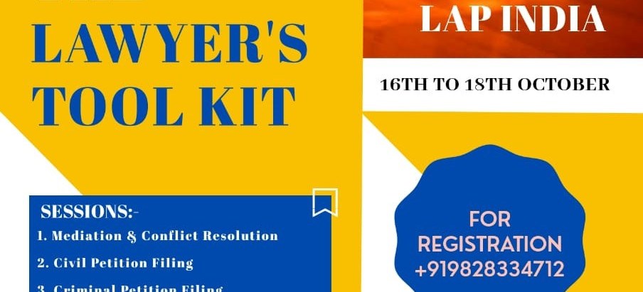 India's 1st Virtual Law Summit by LAP India.