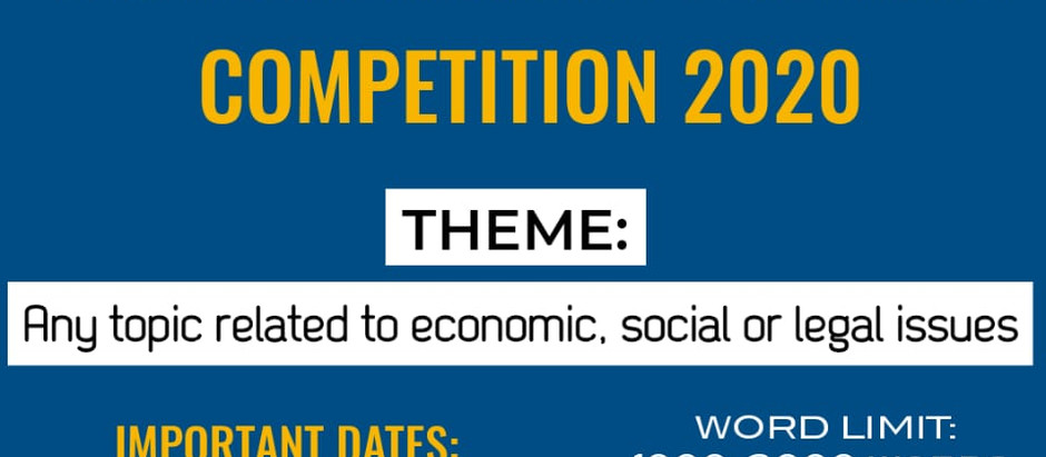 """LexSyndicate presents national article writing competition on """"ECONOMIC  , SOCIAL OR LEGAL ISSUES"""""""