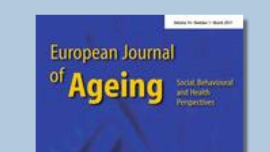 European Journal of Ageing