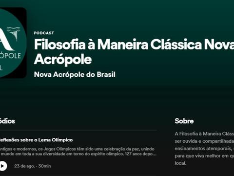 Filosofia à Maneira Clássica Nova Acrópole - Podcast