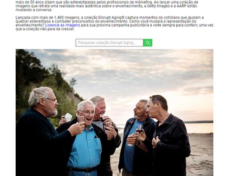 Coleção de imagens que enaltecem o Envelhecimento: Coleção Disrupt Aging